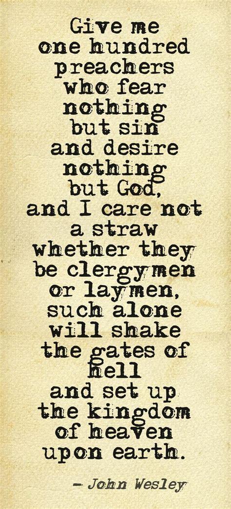 john wesley quote  preachers wow