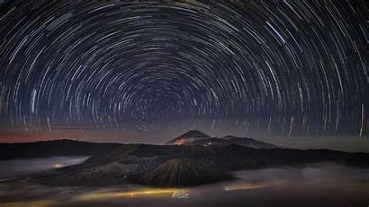 Night Sky Trail Wallpapers 4k Nature Resolution