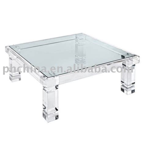 clear acrylic dining table clear acrylic adrienne coffee table with glass top clear