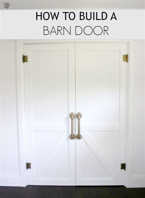 how to make a barn door how to build a barn door book design