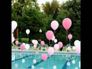 Easy Pool party decorating ideas - YouTube