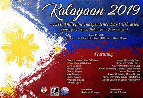 Xavier University - Kalayaan 2019: 121st Philippine ...