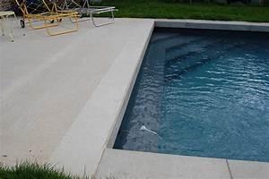 Beton Ciré Piscine : plage de piscine les ma ons du paysage ~ Melissatoandfro.com Idées de Décoration