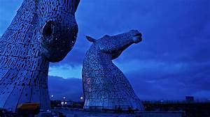 Kelpies timelapse watch the construction of andy scotts for Kelpies timelapse watch the construction of andy scotts 30 ft steel equine statues