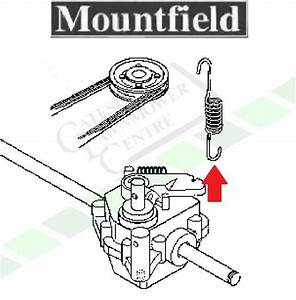 Mountfield Sp470 Gearbox Tension Spring