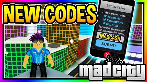 mad city money codes  strucidcodescom