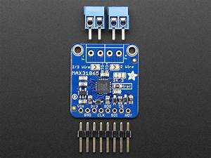 Adafruit Pt100 Rtd Temperature Sensor Amplifier - Max31865 Id  3328