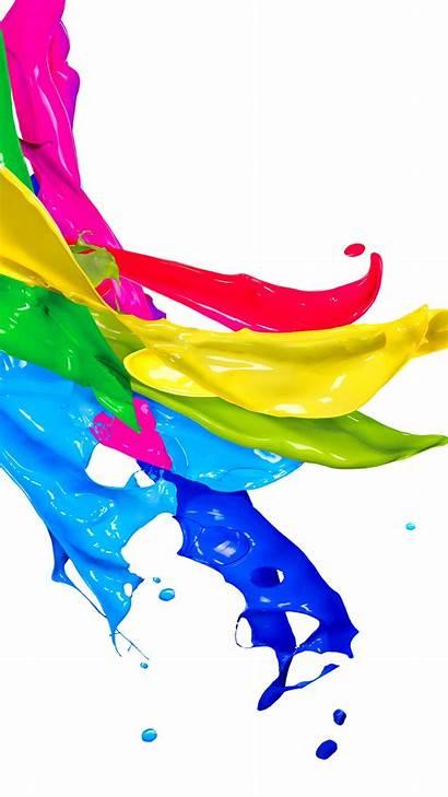 Paint Iphone Wallpapers Illustration Splash Plus Colors