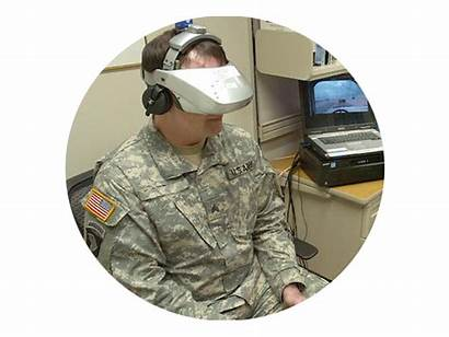 Vr Military Virtual Reality Headset System