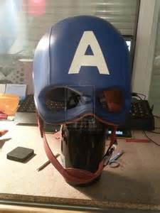 Captain America First Avenger Helmet