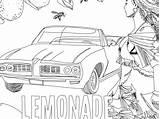 Lemonade Coloring Pages Printable sketch template