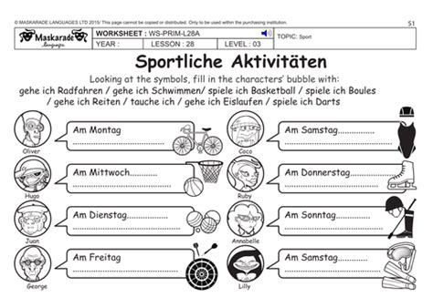 year 7 german worksheets maskaradelanguages s shop teaching resources tes