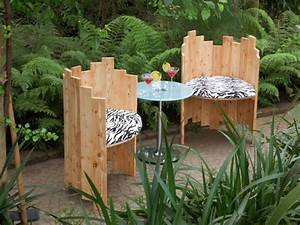 Holzstuhl Selber Bauen : gartenst hle selber bauen selber machen heimwerkermagazin ~ Lizthompson.info Haus und Dekorationen