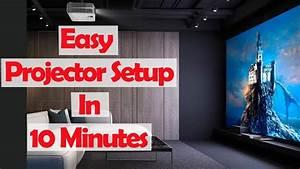 Bedroom Projector Setup