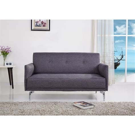 Linen And Loveseat by Grey Linen Loveseat S5048 The Home Depot