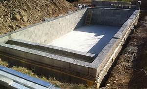 construction alpilles piscines With plan de piscine beton