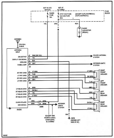 Buick Grand National Wiring Diagram