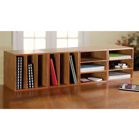 Levenger Wooden Desk by Cubi Desk Bookcase Wood Bookcase Stackable Storage