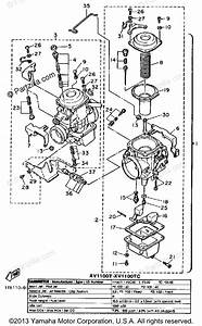 Yamaha Motorcycle 1986 Oem Parts Diagram For Carburetor