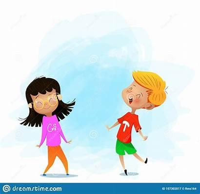 Children Dance Fun Clipart