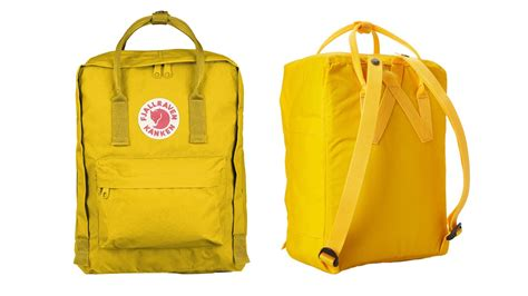 Fjallraven Kanken Daypack (classic Warm Yellow) Review