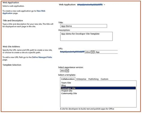 sharepoint 2013 site templates overview of sharepoint 2013 developer site template