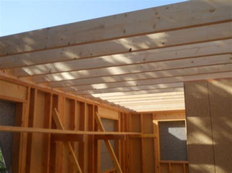plancher 233 tage construction d une maison 224 ossature bois 224 rocbaron construction maison bois