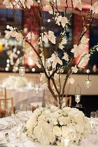 our tree centerpiece design alicia adam39s winter in With lovely exemple plan de maison 3 decoration ceremonie mariage