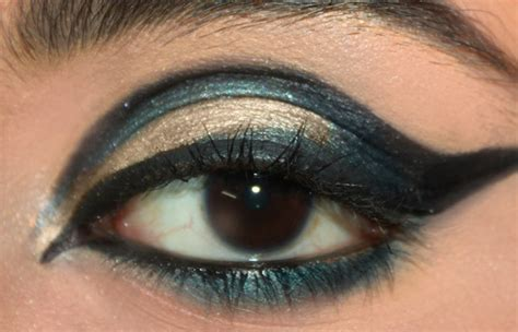 dramatic cut crease arabic eye makeup tutorial  detailed steps