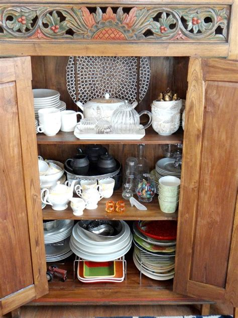Organizing The China Cabinet A Personal Organizer