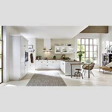 Nolte Landhausküche Windsor Lack Weiß U Form Küchen
