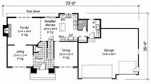 European Style House Plan  Ft