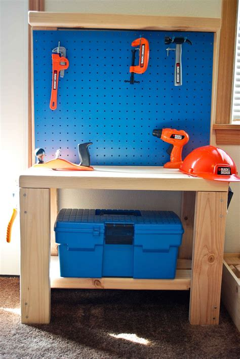 wood work childrens workbench plans  plans
