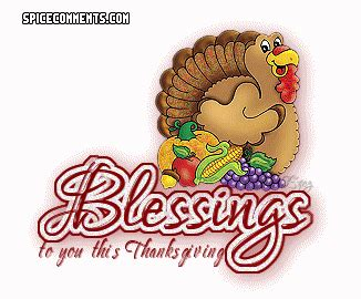 A Real and Sincere 'Happy Thanksgiving' To All (re