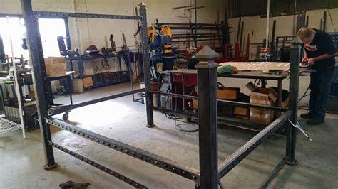 steel welding beds steel bed frame americoat powdercoating