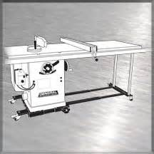 general woodworking machinery 50 030 universal cabinet saw mobile base