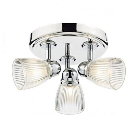 glass bathroom light shades modern polished chrome 3 light bathroom ceiling spotlight