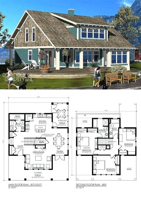 small lake house plans  screened porch  passive solar house images  small lake house
