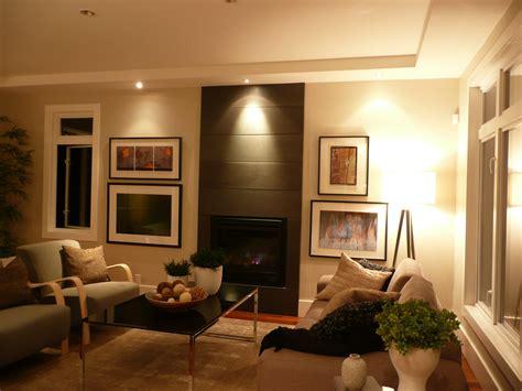 Living Room With Lighting Fixtures  Silver Fern Ventures Inc