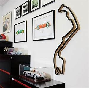 race tracks of the world f1 racing circuits transformed With kitchen cabinets lowes with race track wall art