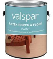 valspar latex porch floor paint  glare  sheen