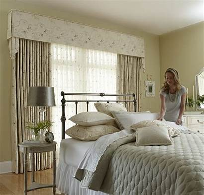 Window Bedroom Treatment Draperies Blinds Drapery Bedding