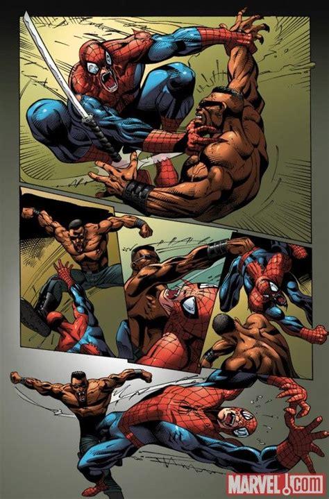 Blade Vs. Vampire Spider-man | Spiderman, Horror monsters ...
