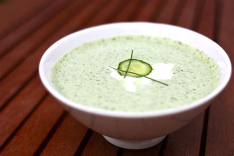 cucumber soup with sour cucumber soup