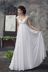 bohemian wedding gown from chiffon french lace boho With where to buy boho wedding dresses
