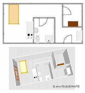 impressionnant disposition salle de bain 3 dessiner le With disposition salle de bain