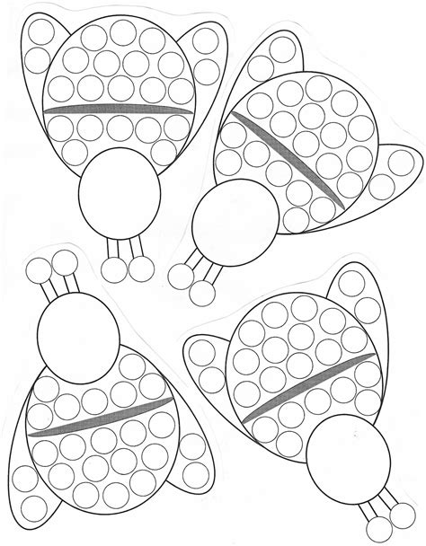 heart teaching  bug bee stickerincentive chart