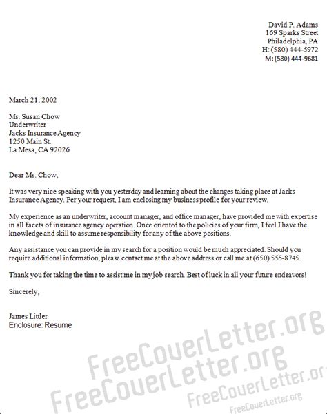 sle cover letter account manager cover letter sle