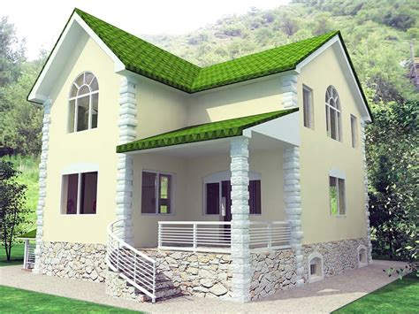 denah rumah minimalis mungil gambar desain rumah