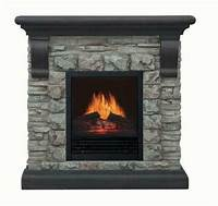 electric stone fireplace Stone Electric Fireplace | eBay